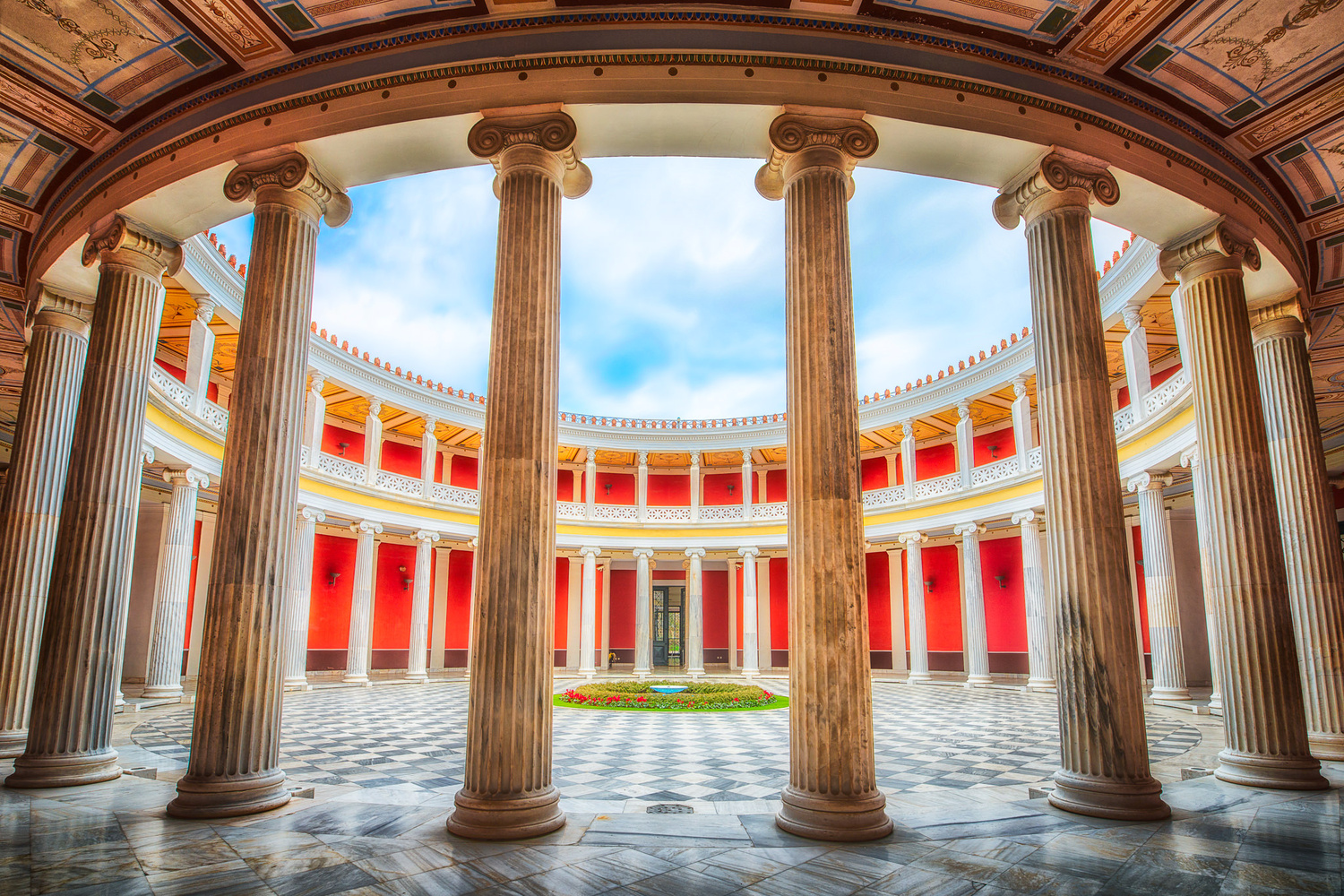 Zappeion Exhibiton Hall - the Atrium | Athens, Greece by Nico Trinkhaus