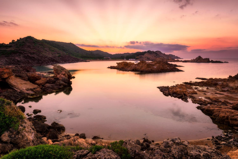 Cala Pregonda Sunset Menorca | Spain by Nico Trinkhaus