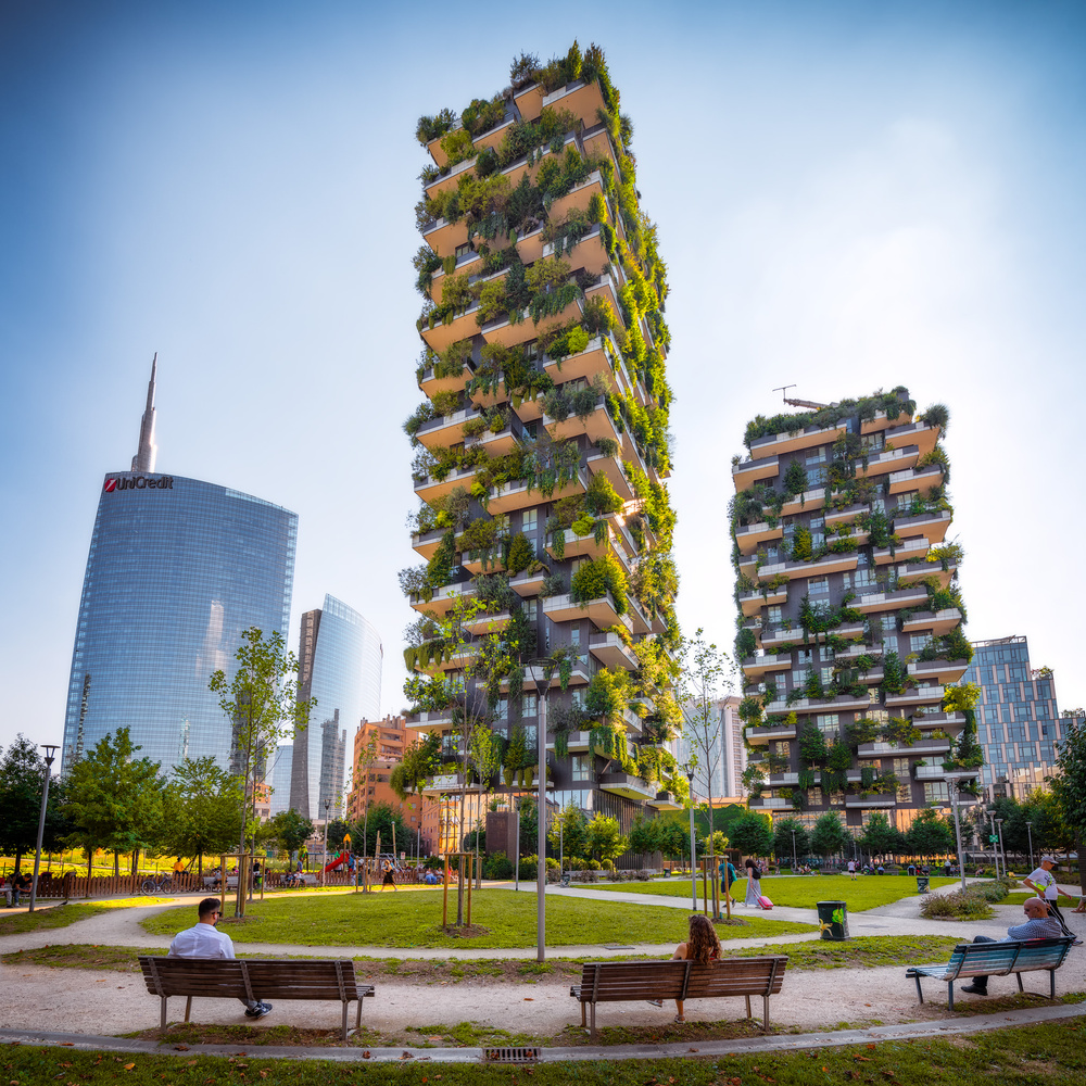 Bosco Verticale | Milan, Italy by Nico Trinkhaus