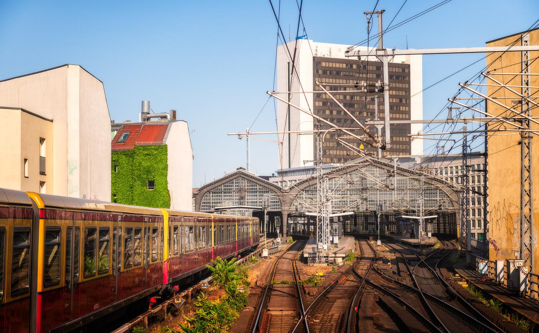 Berlin Friedrichstraße Train Station | Germany by Nico Trinkhaus