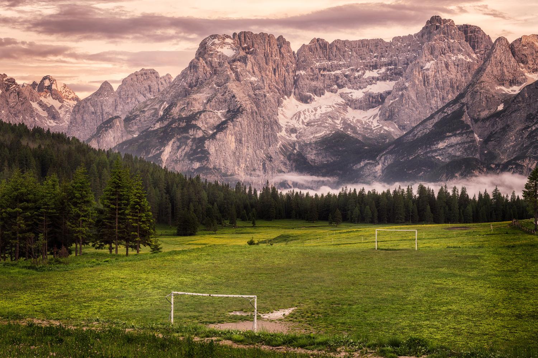 Misurina – Civetta Mountain and… a football pitch! | Dolomites, Italy by Nico Trinkhaus