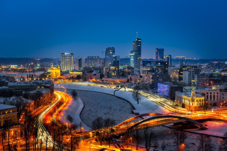 Vilnius Skyline | Lithuania by Nico Trinkhaus