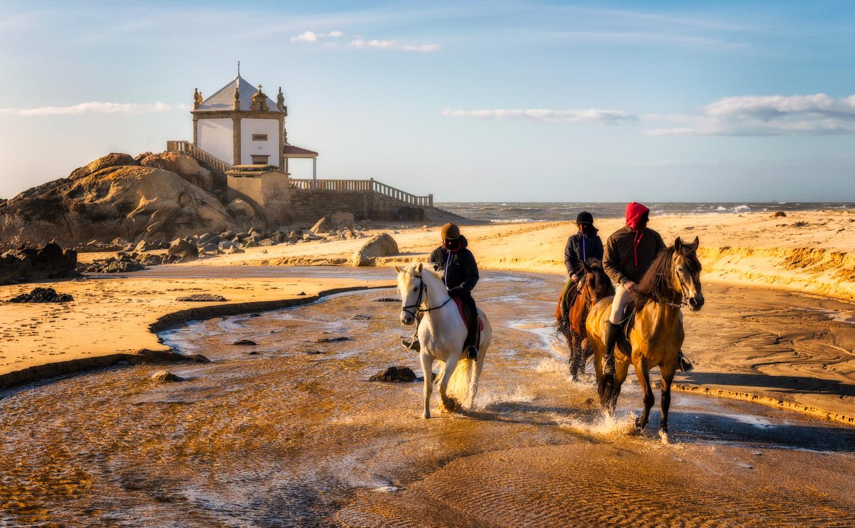 Miramar Beach and Capela do Senhor da Pedra | Portugal by Nico Trinkhaus
