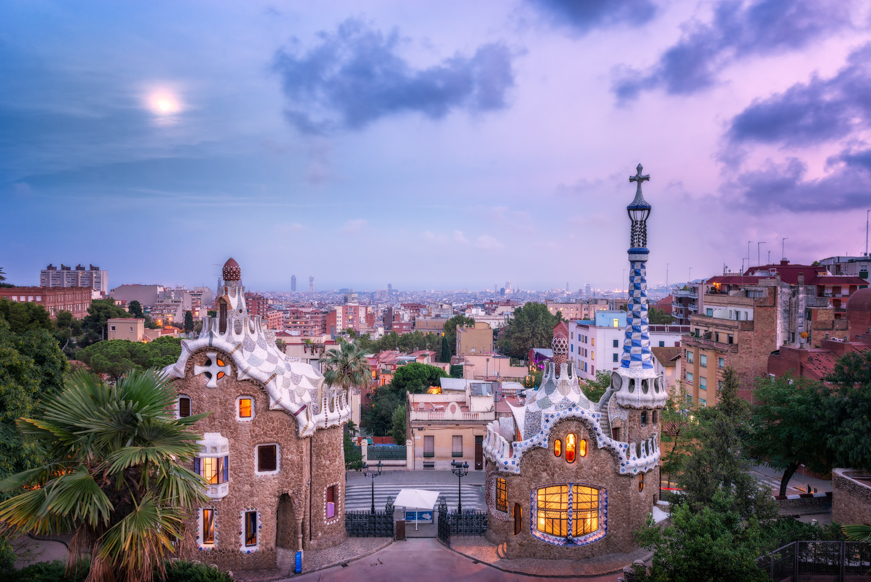 Park Güell in Barcelona | Spain by Nico Trinkhaus
