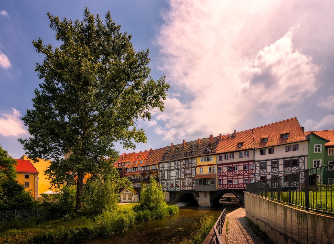 Krämerbrücke | Erfurt, Germany by Nico Trinkhaus
