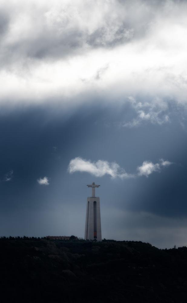 Cristo Rei in Almada | Lisbon, Portugal by Nico Trinkhaus