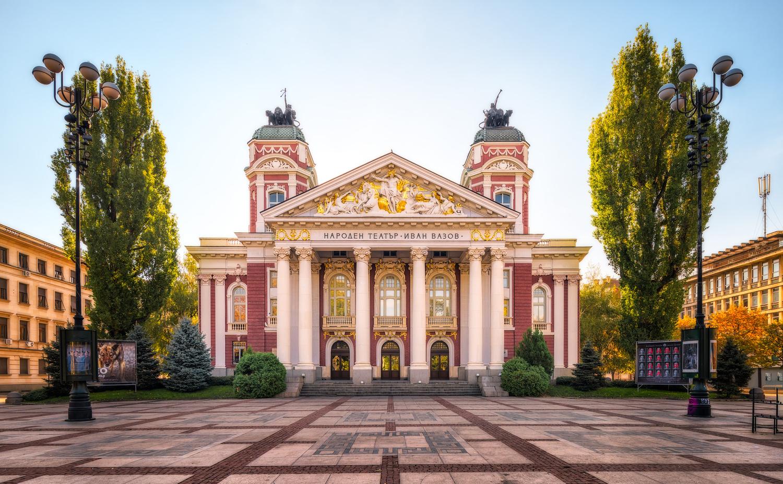Ivan Vazov National Theatre | Sofia, Bulgaria by Nico Trinkhaus