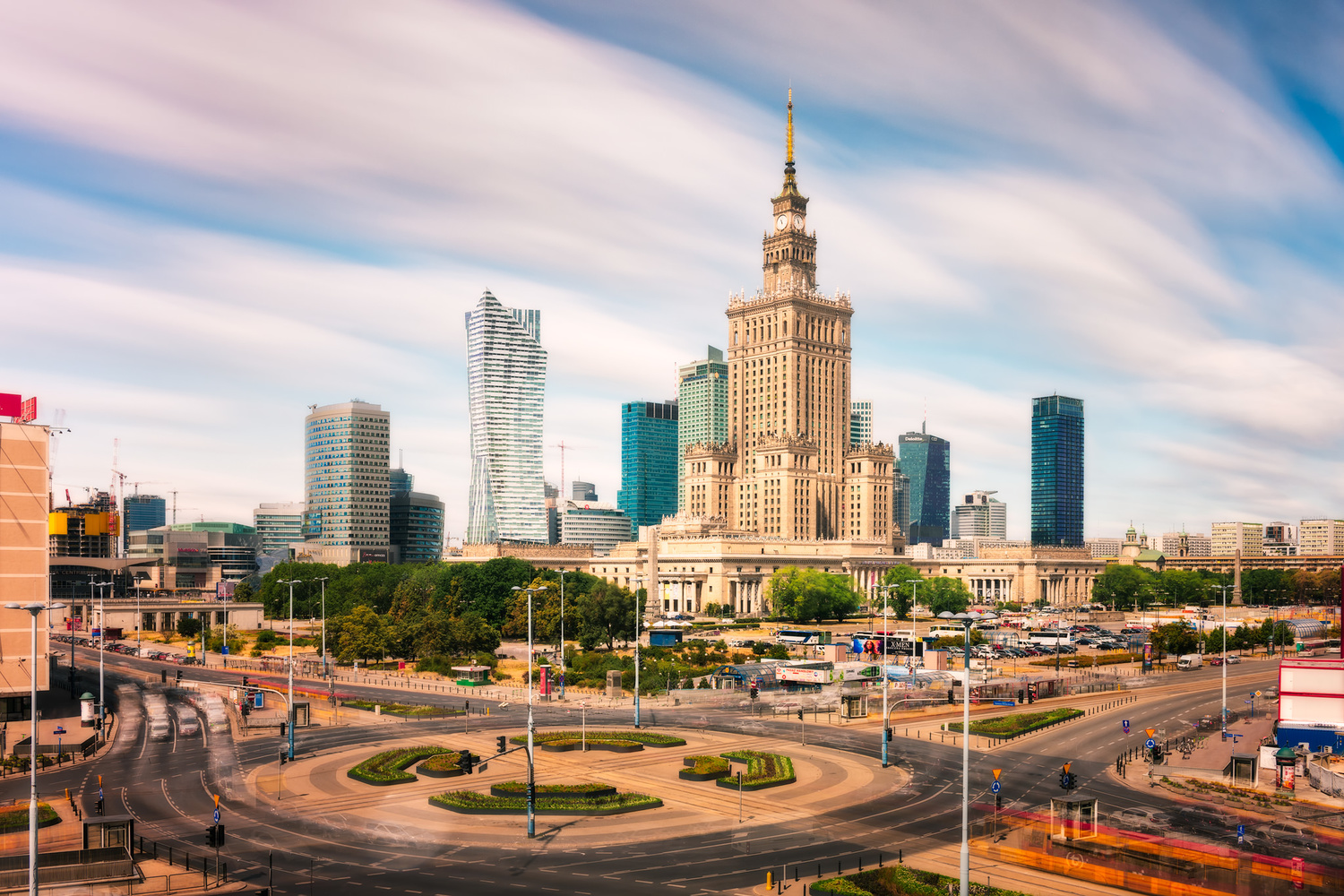 Palace of Culture and Science | Warsaw, Poland by Nico Trinkhaus
