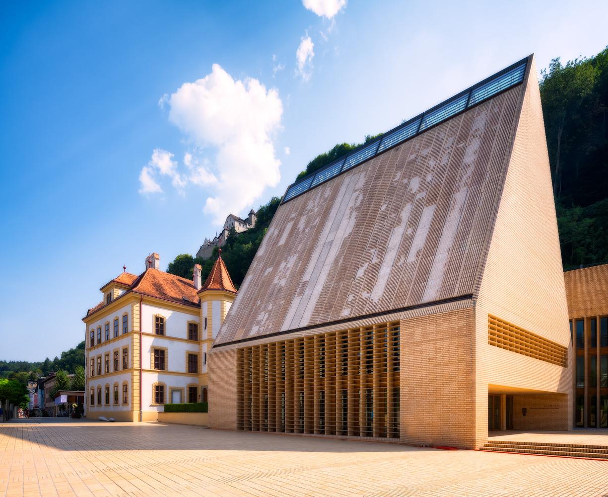 Landtag of Liechtenstein | Vaduz, Liechtenstein by Nico Trinkhaus