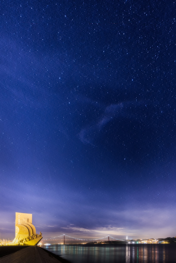 Stars over Lisbon | Portugal by Nico Trinkhaus