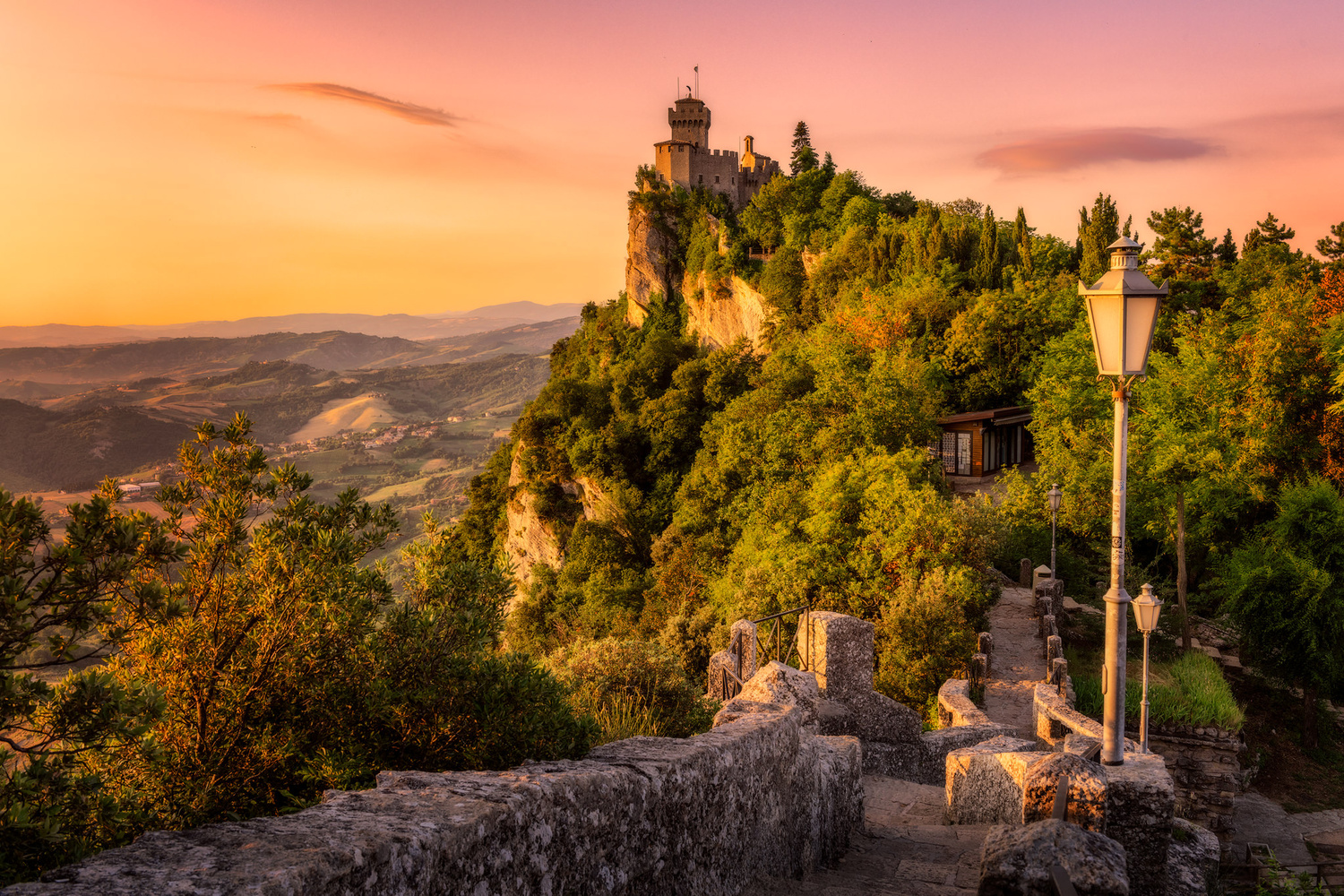 Towers | San Marino by Nico Trinkhaus