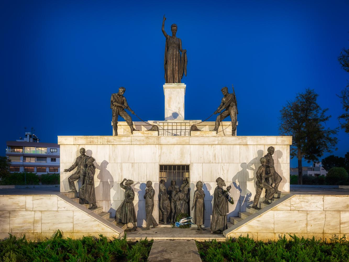The Liberty Statue | Nicosia, Cyprus by Nico Trinkhaus