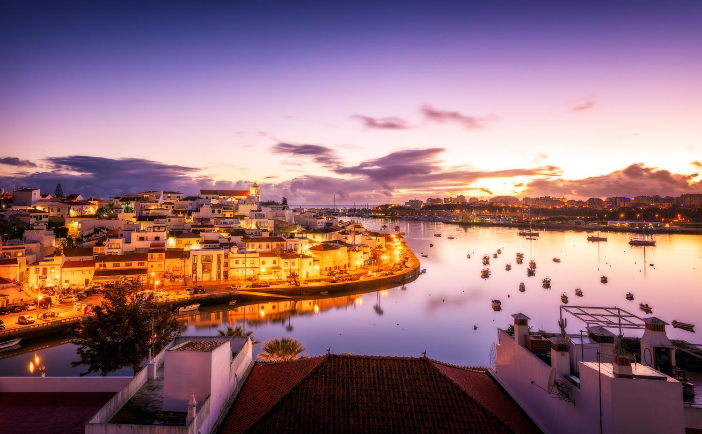 Ferragudo Night | Portugal by Nico Trinkhaus