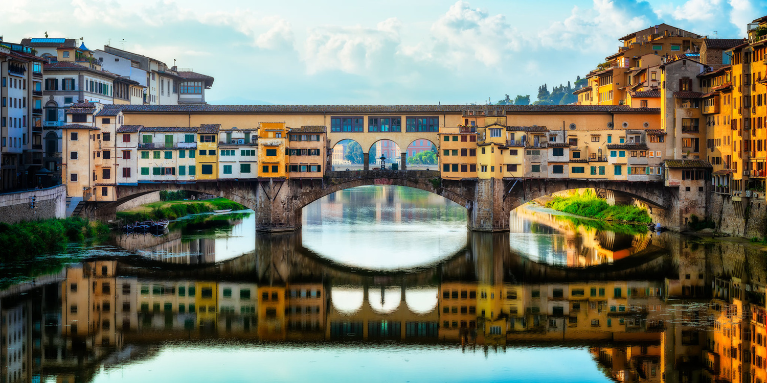The Ponte Vecchio | Florence, Italy by Nico Trinkhaus