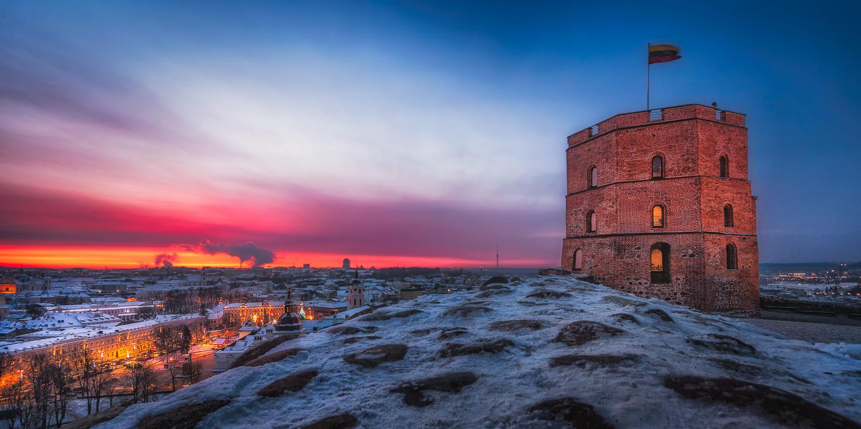 Vilnius Castle | Vilnius, Lithuania by Nico Trinkhaus