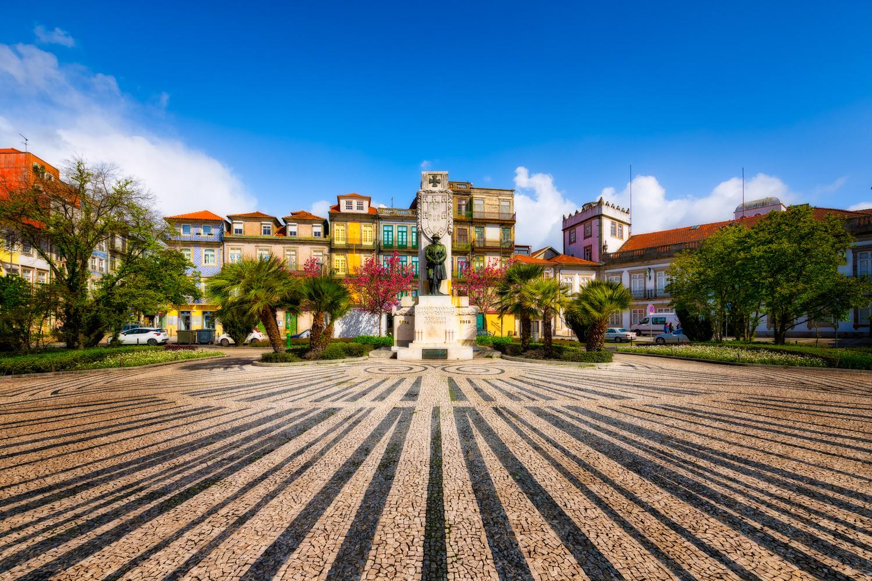 Praça de Carlos Alberto   Porto, Portugal by Nico Trinkhaus