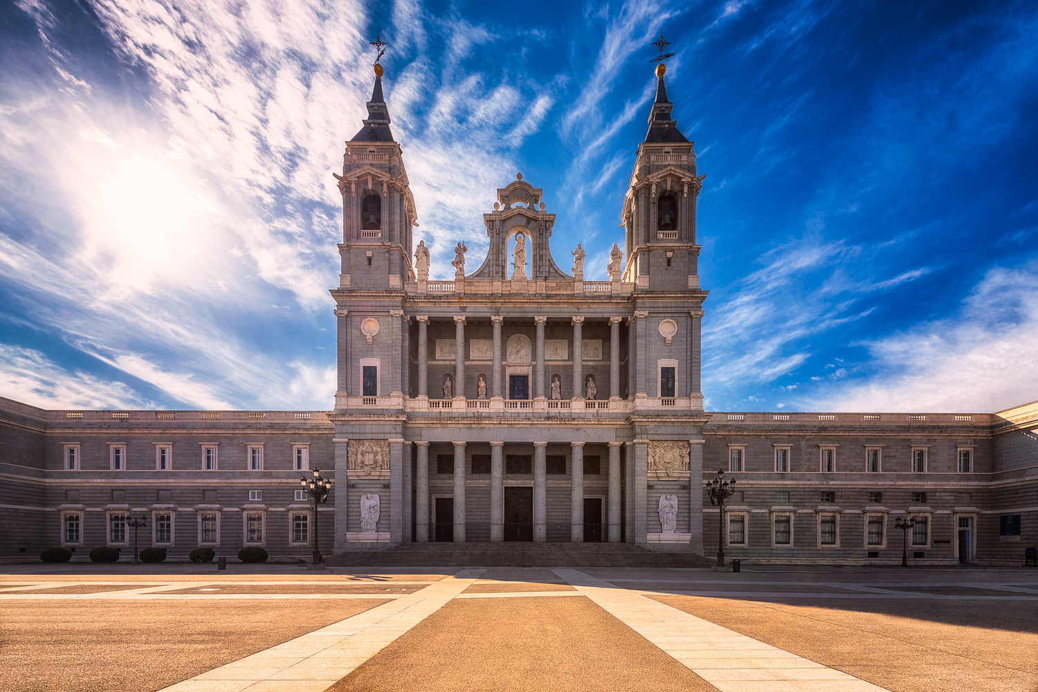 Almudena Cathedral | Madrid, Spain by Nico Trinkhaus