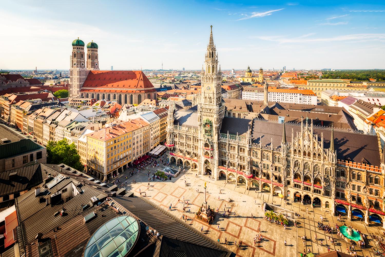 Marienplatz Munich Old Town | Germany by Nico Trinkhaus