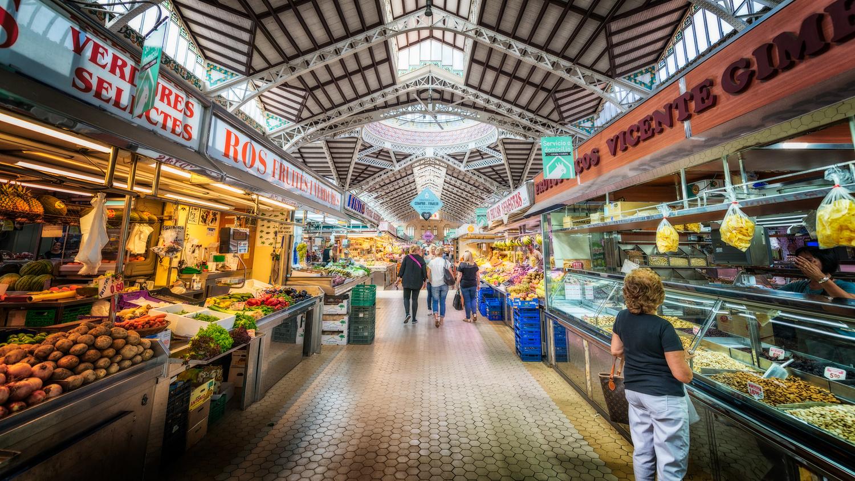 Mercado Central in Valencia | Spain by Nico Trinkhaus