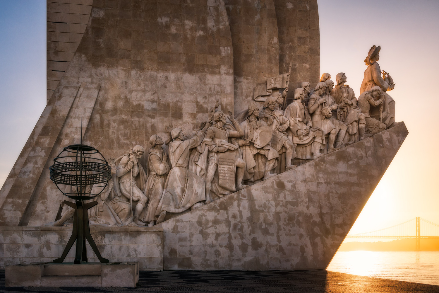 The Monument to the Discoveries | Lisbon, Portugal by Nico Trinkhaus