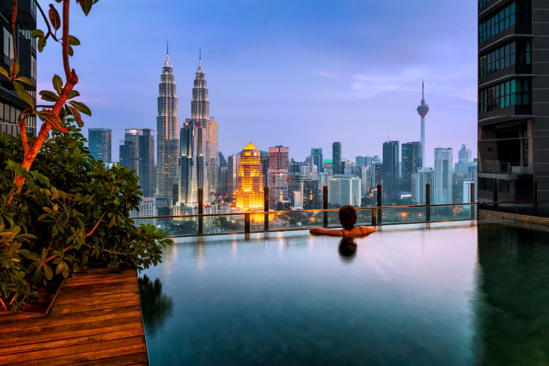 Infinity pool | Kuala Lumpur, Malaysia by Nico Trinkhaus