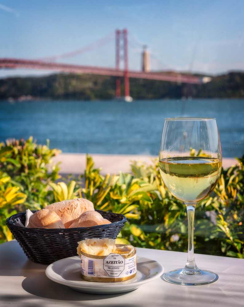 Wine and cheese | Lisbon, Portugal by Nico Trinkhaus