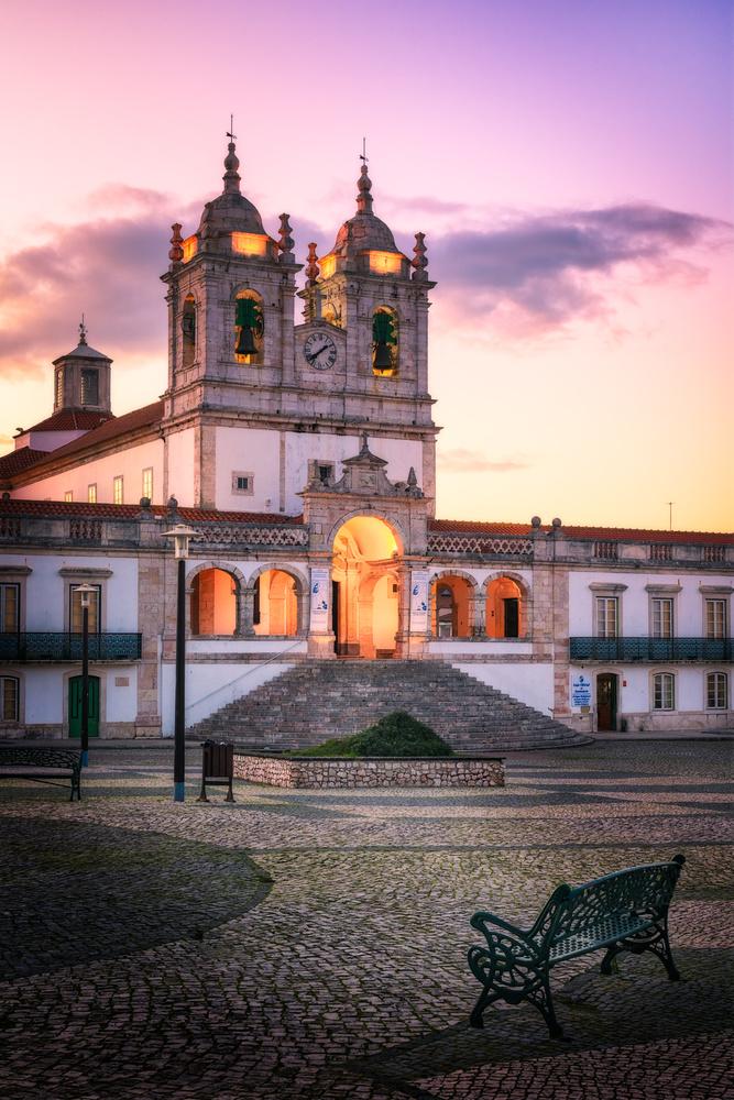 Nossa Senhora da Nazaré Church   Nazare, Portugal by Nico Trinkhaus