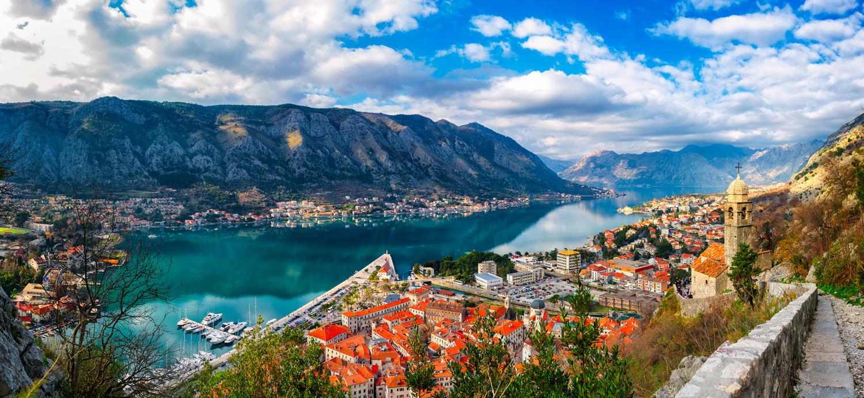 Daylight Panorama   Kotor, Montenegro by Nico Trinkhaus