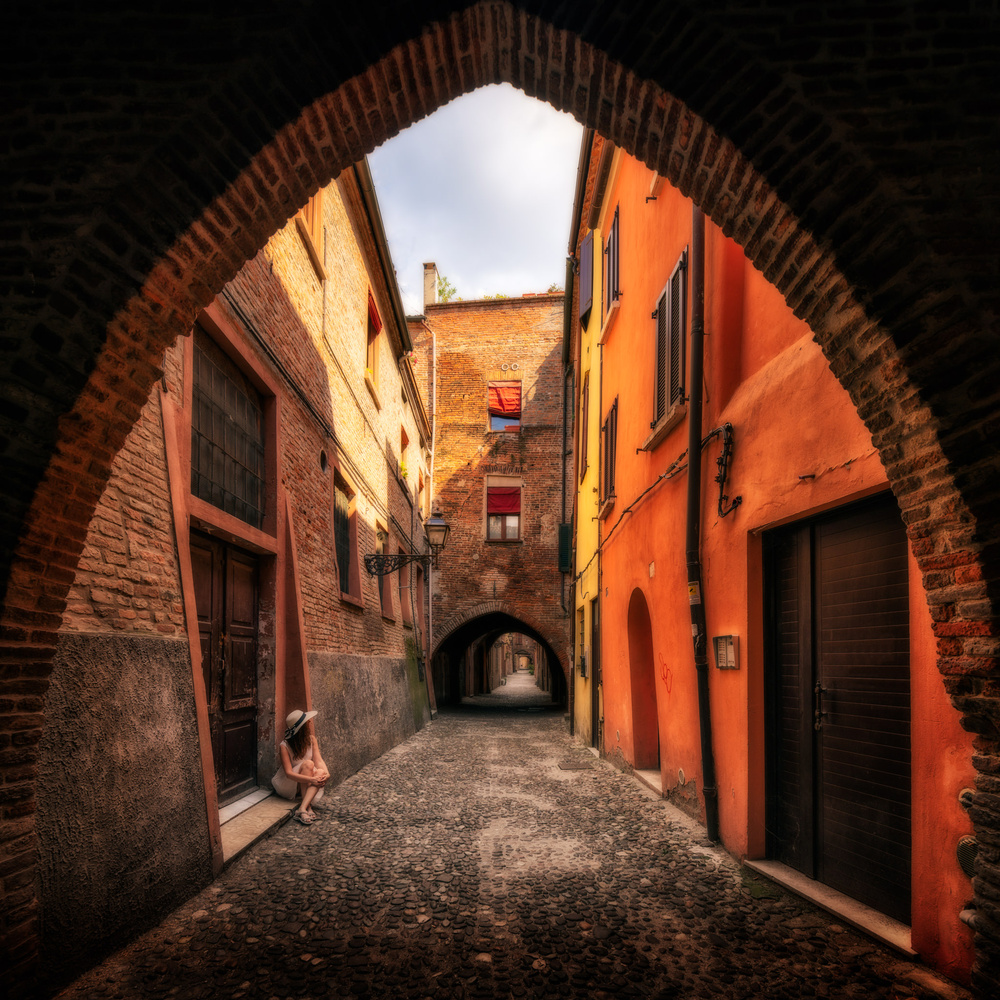 Summer   Ferrara, Italy by Nico Trinkhaus