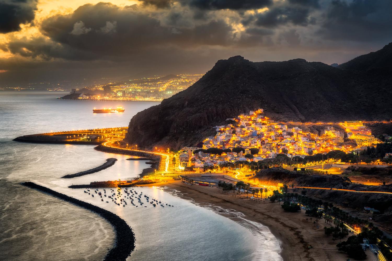 Sunset Over Las Teresitas | Tenerife, Spain by Nico Trinkhaus