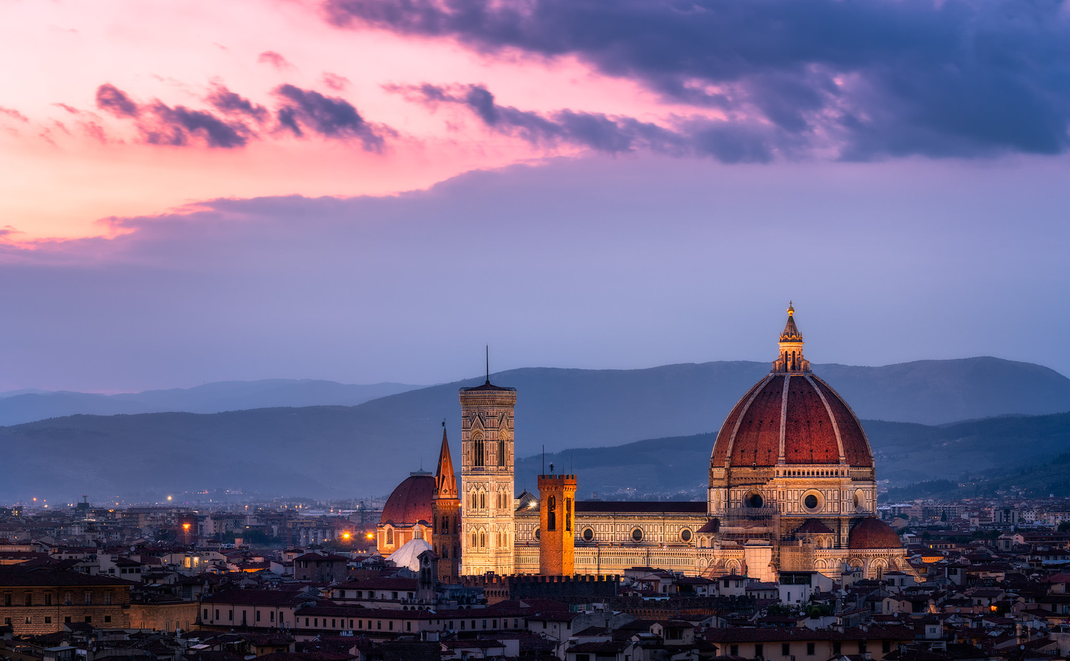 Florence Cathedral with Brunelleschi Duomo | Florence, Italy by Nico Trinkhaus
