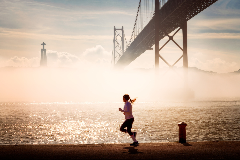 Half-marathon in Lisbon   Portugal by Nico Trinkhaus