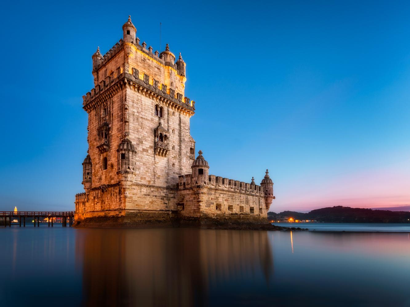 Belem Tower | Lisbon, Portugal by Nico Trinkhaus