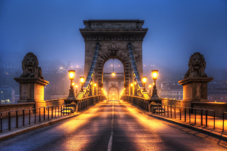 Budapest Bridge | Budapest by Nico Trinkhaus