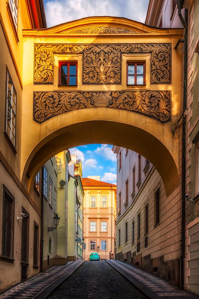 Malá Strana Alley | Prague, Czech Republic by Nico Trinkhaus