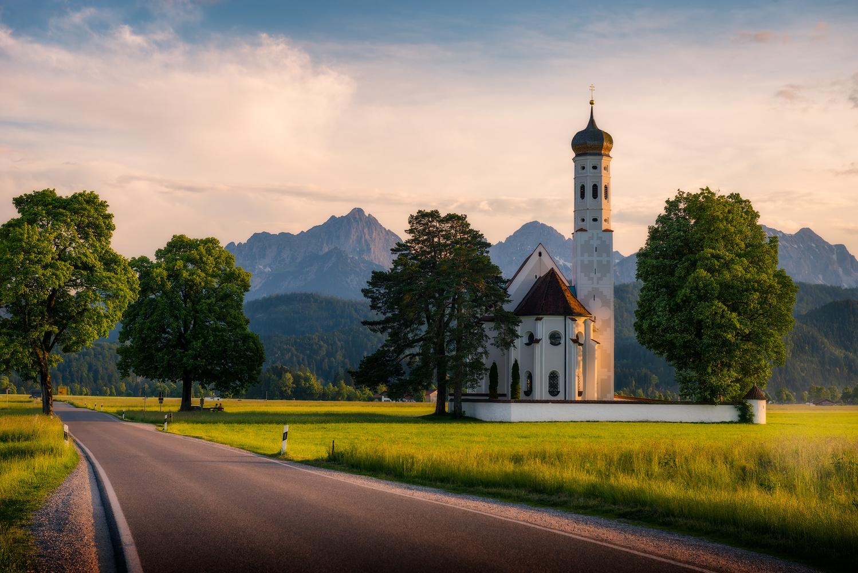 St. Coloman Church | Schwangau, Germany by Nico Trinkhaus