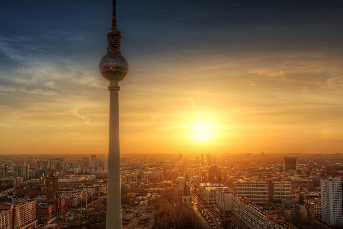 The best View | Berlin, Germany by Nico Trinkhaus