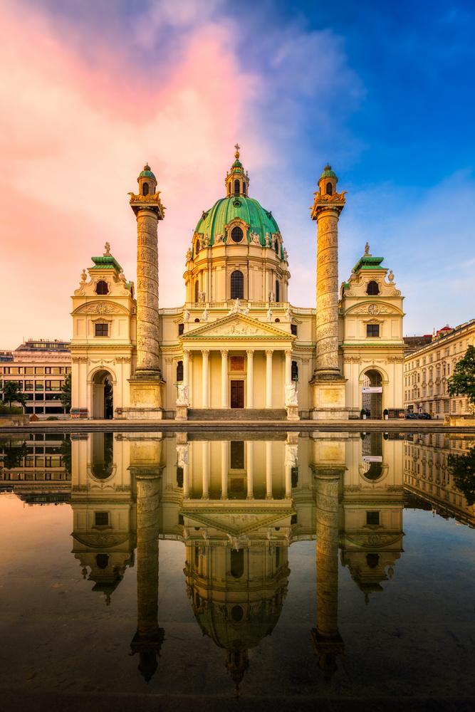Karlskirche | Vienna, Austria by Nico Trinkhaus