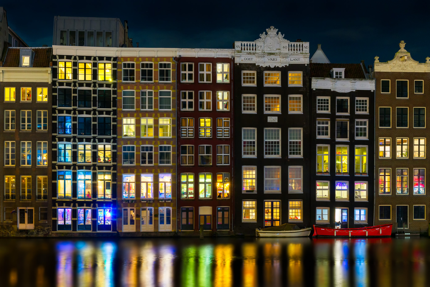 Amsterdam at Night | Netherlands by Nico Trinkhaus