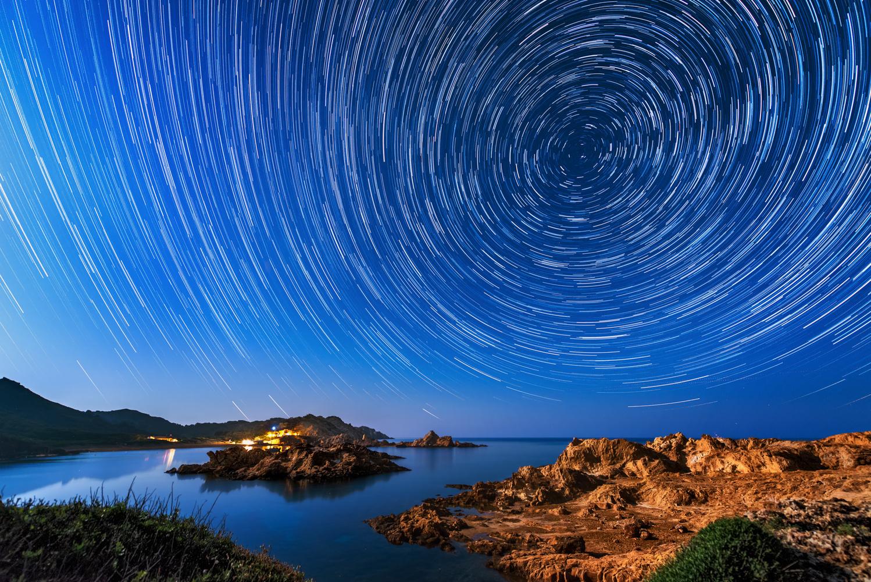 Star Trails | Menorca, Spain by Nico Trinkhaus