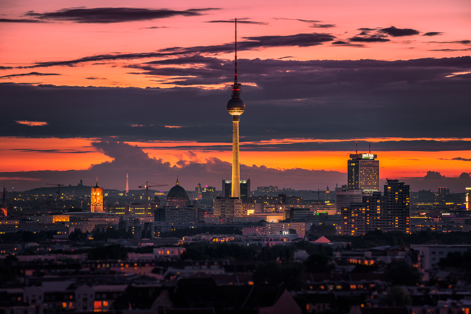 TV Tower: Tilt-Shift Photography | Berlin, Germany by Nico Trinkhaus