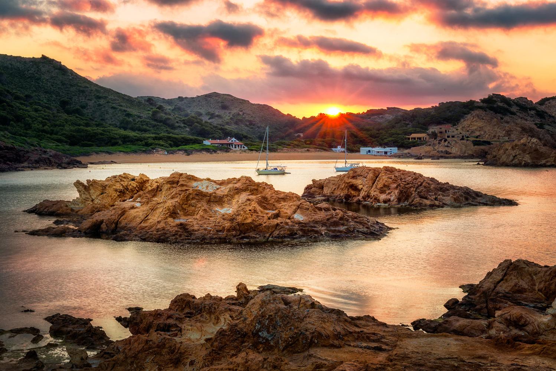 Rocky beach | Menorca, Spain by Nico Trinkhaus