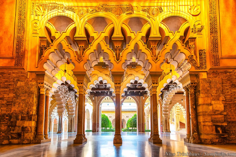Aljaferia Palace | Zaragoza, Spain by Nico Trinkhaus