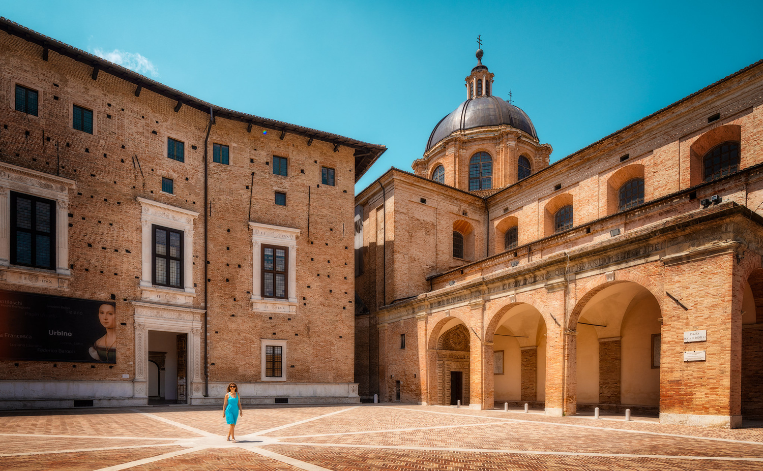 The Urbino Cathedral | Italy by Nico Trinkhaus