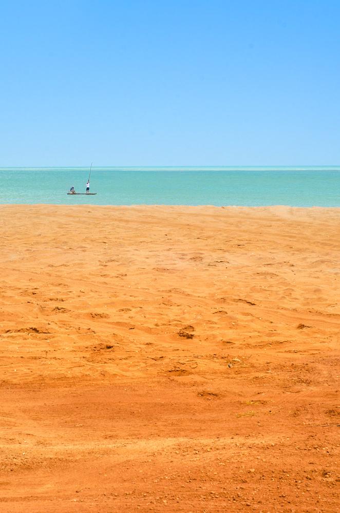 Sand, Water, Sky by Rodrigo Junqueira