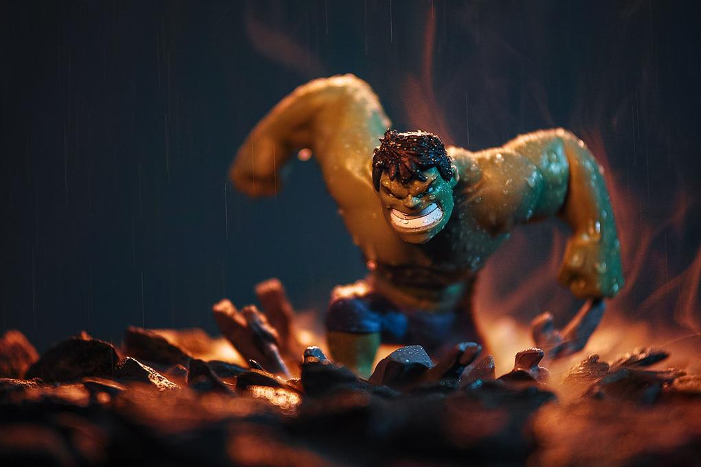 Hulk Smash by Paul Monaghan