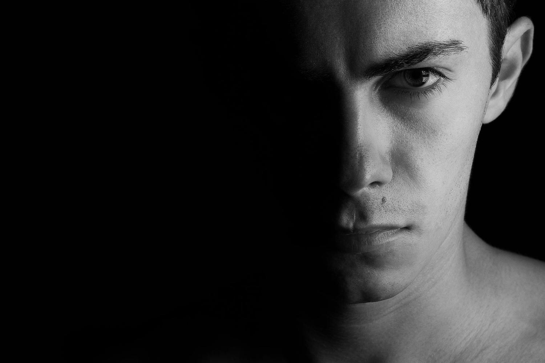 Self portrait by Ovidiu Rasanu