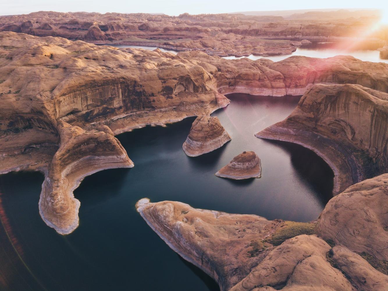 Reflection Canyon, Utah by Lee Hanyo