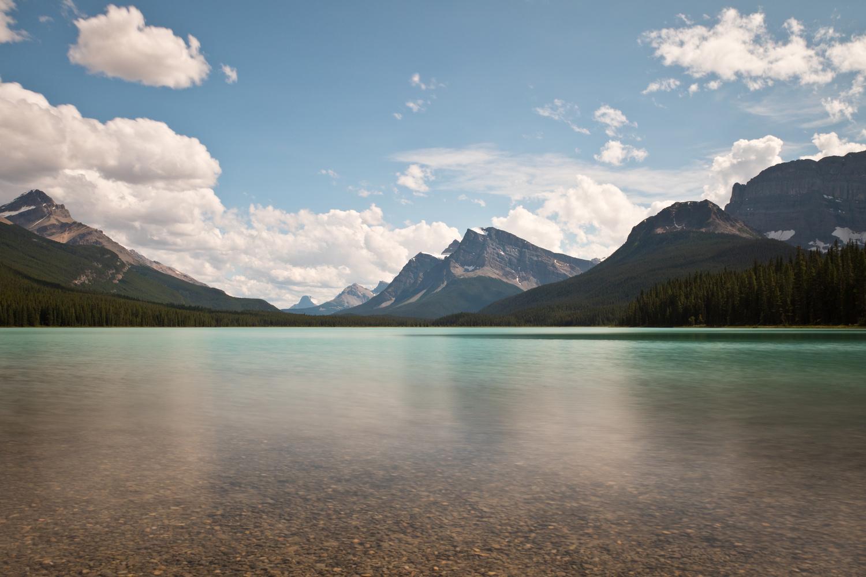Lower Waterfowl Lake, Alberta by Lee Hanyo