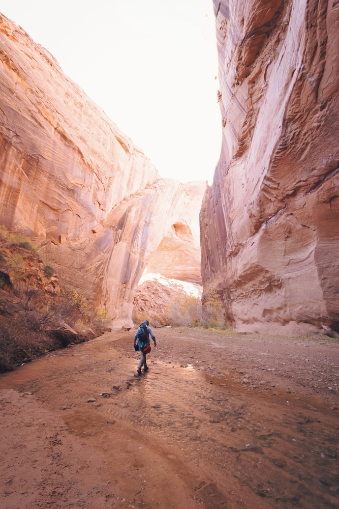 Coyote Gulch, Utah by Lee Hanyo